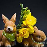 Little Bunny Art Print