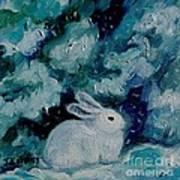 Little Bunny Foo Foo Art Print