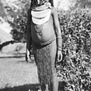 Little Chimbu Girl Papua New Guinea Art Print