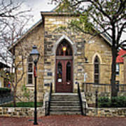 Little Church At La Villita  Art Print