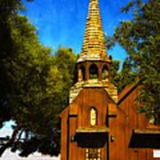 Little Church Of The West Art Print