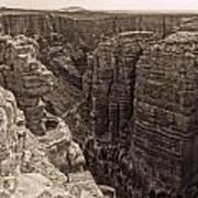 Little Colorado River Overlook Art Print
