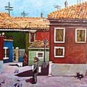 Little Corner Of Venice Art Print
