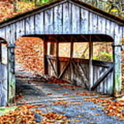 Little Covered Bridge II Art Print