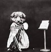 Little Fiddler Art Print