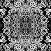 Little Flower Kaleidoscope Art Print