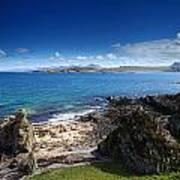 Little Gruinard Bay In The Scottish Highlands Art Print