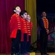 Little Guys Of The Circus Art Print