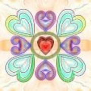 Little Hearts-2 Art Print
