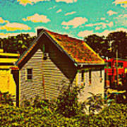 Little House - The World Around New York City Art Print