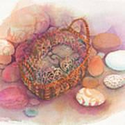 Little Mouse Nap Art Print