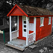 Little Red School House Art Print