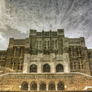 Little Rock Central High Reflecting Upon The Past Art Print by Jason Politte