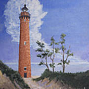 Little Sable Point Lighthouse Art Print