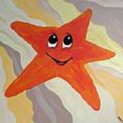 Little Starfish Art Print