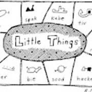 'little Things' Art Print
