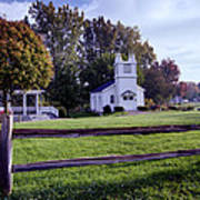 Little Village Chapel Of The Immanuel Lutheran Church Art Print