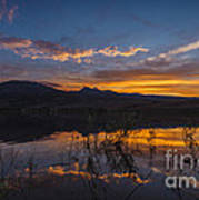 Little Washoe Summer Reflections Art Print