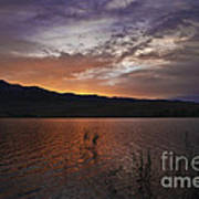 Little Washoe Sunset Art Print