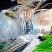 Little Waterfall Art Print