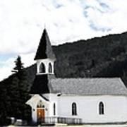 Little White Church Art Print