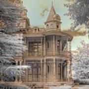 Littlefield Mansion Art Print by Jane Linders