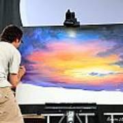 Live Artist Justin Roberts Rw2k14 Art Print