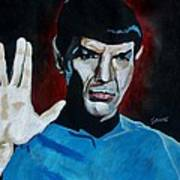 Live Long And Prosper Art Print by Jeremy Moore