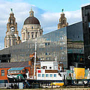 Liverpool Docklands Art Print