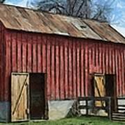 Livestock Barn Art Print