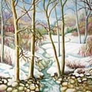 Living Creek Art Print