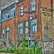 Living Downtown Up North Art Print by MJ Olsen