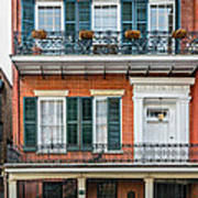 Living High In The French Quarter Art Print