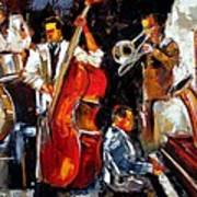 Living Jazz Art Print