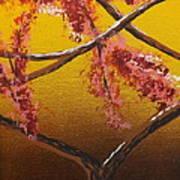 Living Loving Tree Bottom Center Art Print