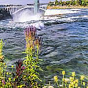 Living On The Edge Niagara Falls Art Print