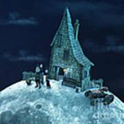 Living On The Moon Art Print