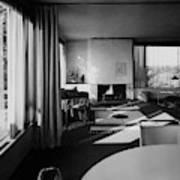 Living Room In Mr. And Mrs. Walter Gropius' House Art Print
