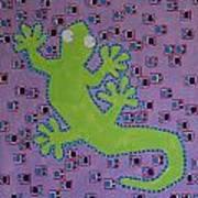 Lizard Lizard Art Print