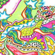 Ioli - Lizard Art Print