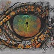Lizards Eye Art Print