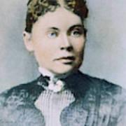 Lizzie Andrew Borden (1860-1927) Art Print