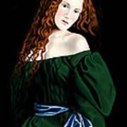 Lizzie Siddal Art Print by Andrew Harrison