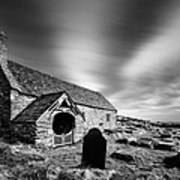 Llangelynnin Church Print by Dave Bowman