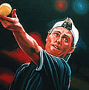 Lleyton Hewitt 2  Art Print by Paul Meijering
