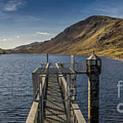 Llyn Cowlyd Reservoir Art Print