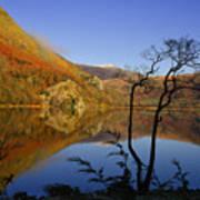 Llyn Gwynant Is A Lake In Snowdonia  Wales Art Print