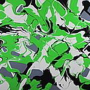 Lime Verve Art Print