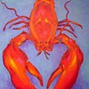 Lobster Art Print by John  Nolan