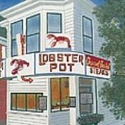Lobster Pot Art Print